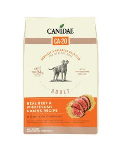Canidae CA-20 Real Beef Wholesome Grains Dry Dog Food 7lb