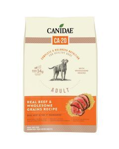 Canidae CA-20 Real Beef Wholesome Grains Dry Dog Food 25lb