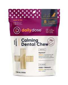 Daily Dose Pet  Calming Dental Chew Large 8Ct