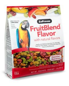Zupreem FruitBlend Flavor with Natural Flavors Large 12lb