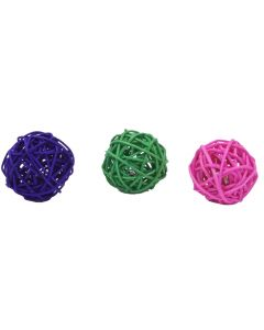 Rascals Wicker Ball 1.75""