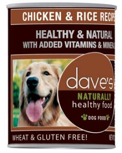 Dave's Pet Food Chicken and Rice 22oz