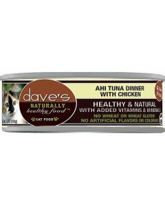 Dave's Pet Food Ahi Tuna & Chicken Dinner 5.5oz