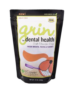 InClover Grin Daily Dental Care Chews for Dogs 15oz