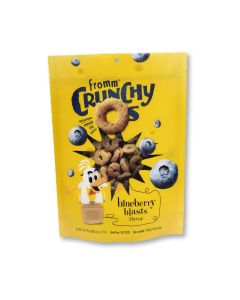 Fromm Crunchy O'S Blueberry Blasts With Chicken Dog Treats 6oz