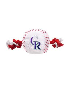 Pets First Dog Baseball Rope Toy
