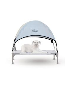 K&H Manufacturing Pet Cot Canopy Medium Gray