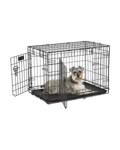 """Midwest Pet Products 30"""" Contour DBL Door Dog Crate"""