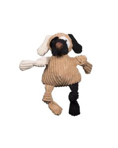 HuggleHounds Knotties Patches Dog Toy