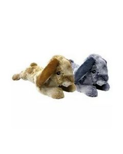 Multipet Thumperz Jumbo Bunnies Plush Dog Toy, 24""