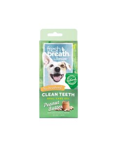Tropiclean Oral Care Gel For Dogs With Peanut Butter Flavoring