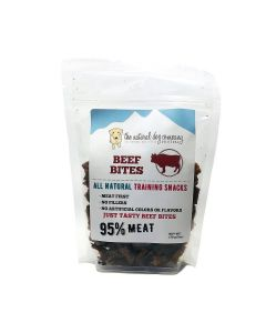Natural Dog Company Beef 95% Meat Training Bites Dog Treats 6oz