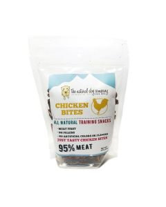 Natural Dog Company Chicken 95% Meat Training Bites Dog Treats 6oz