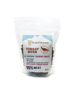 Natural Dog Company Turkey 95% Meat Training Bites Dog Treats 6oz