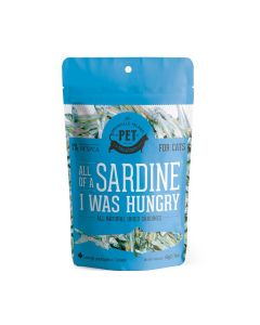 Granville All Of A Sardine I Was Hungry For Cats Dried Sardine Treats 1.76oz