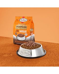 Primal Raw Toppers Beef Market Mix Dog Cat Treats 5lb