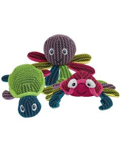 Multipet Coral Creatures Dog Toys