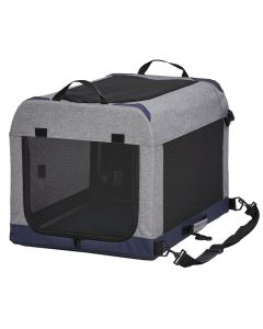 """Midwest Pet Products 24"""" Gray Canine Camper Tent Crate"""