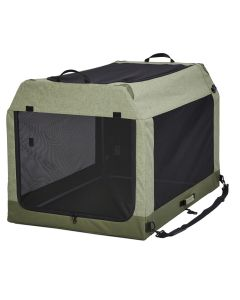 """Midwest Pet Products 42"""" Green Canine Camper Tent Crate"""