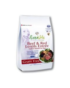 PureVita Beef & Red Lentils Dry Dog Food 25lb