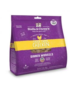 Stella and Chewys Freeze-Dried Chicken Morsels Cat Food 9oz