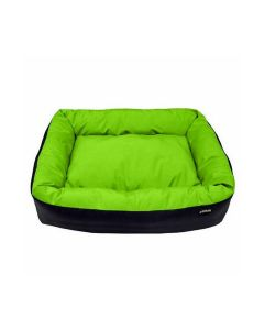 BED CYCLE DOG NESTLE GREEN L