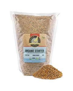 Scratch and Peck Naturally Free Organic Starter Feed For Chickens & Ducks 10lb