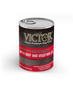 Victor Grain Free Cuts in Gravy with Beef and Vegetables 13.2oz