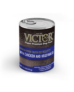 Victor Grain Free Cuts in Gravy with Chicken and Vegetables 13.2oz