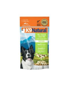 K9 Natural Lamb Green Tripe Topper Grain Free Dog Food 2.6oz