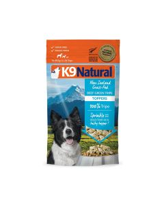 K9 Natural Beef Green Tripe Topper Grain Free Dog Food 2.6oz