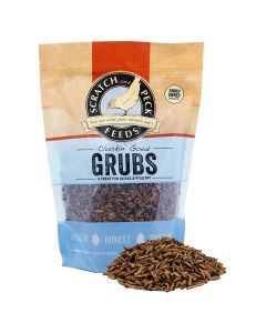 Scratch and Peck Cluckin' Good Grubs Tasty Treats for Chickens and Ducks 1.25lb