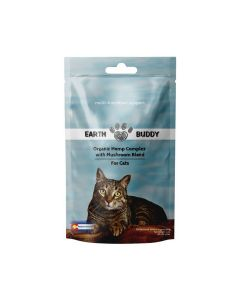 Earth Buddy Organic Hemp Complex with Mushroom Blend For Cats