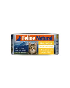 Feline Natural Chicken Feast Canned Cat Food 3oz