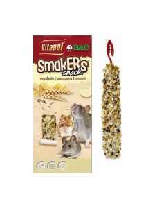 Vitapol Smakers Snack Cheese Treat Sticks for Mice and Rats 2Pk