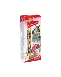 Vitapol Smakers Snack Coconut Rose Treat Sticks for Chinchillas 2Pk