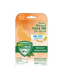 Tropiclean Natural Flea & Tick Collar For Cats