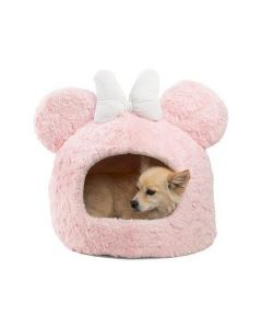 Best Friends by Sheri Minnie-Mouse Pink Hut With Toy