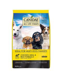 Canidae ALL Life Stages Chicken Rice Dry Dog Food 44lb