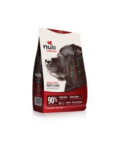 Nulo Challenger Puppy and Adult Beef Lamb & Pork Dry Dog Food 24lb