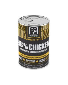Square Pet Grain Free 96% Chicken Meat Formula Canned Dog Food 13oz