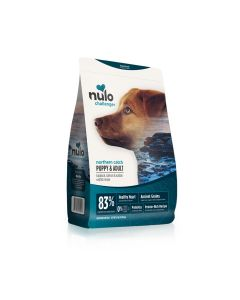 Nulo Challenger Puppy & Adult Haddock Salmon Acadian Redfish Dry Dog Food 11lb