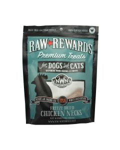 Northwest Naturals Freeze Dried Chicken Necks Cat & Dog Treats 4oz