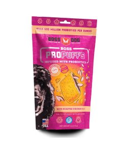 Boss Dog Propuffs Treat for Dogs Roasted Chicken Flavor 6oz