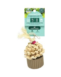 Oxbow Enriched Life Celebration Cupcake Small Animal Toy