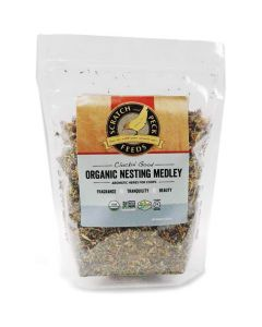 Scratch and Peck Feeds Organic Nesting Medley 8oz