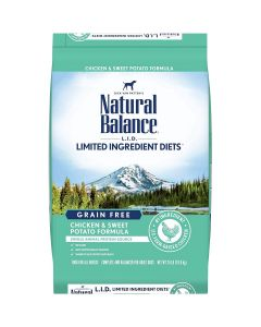 Natural Balance Chicken Sweet Potato Dry Dog Food 24lb