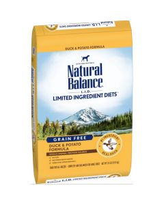Natural Balance Grain Free Potato & Duck Dry Puppy Formula 24lb
