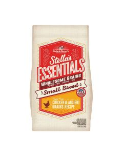 Stella and Chewys Essentials Small Breed Chicken Ancient Grain Dog Food 3lb
