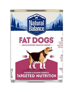 Natural Balance Targeted Nutrition Low Calorie Canned Dog Food 13oz